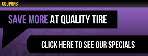 Save More at Quality Tire