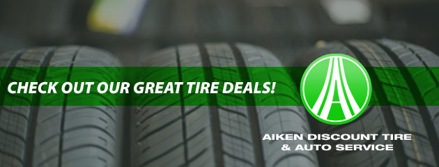 Aiken Discount Tire Savings