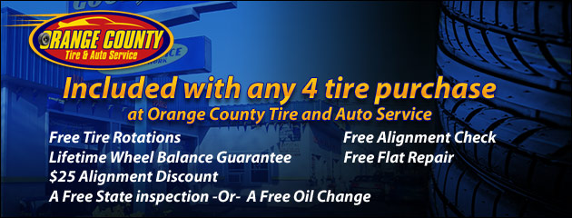 Orange County Tire and Auto Service