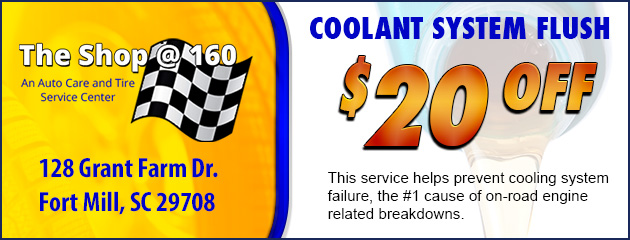 $20 Off Cooling Flush
