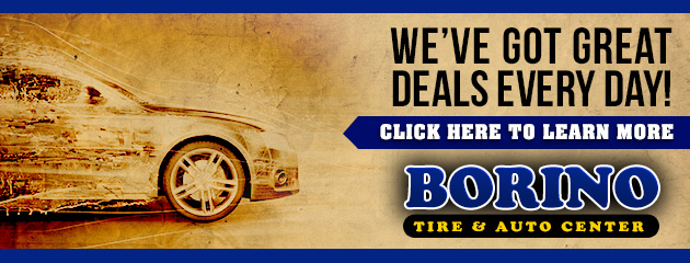 Borino Tire & Auto Center Savings