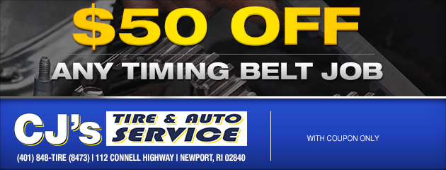 $50 Off Timing Belt
