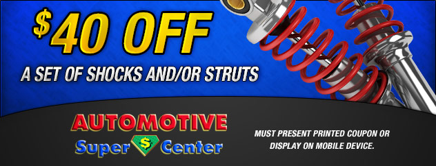 $40 Off Shocks