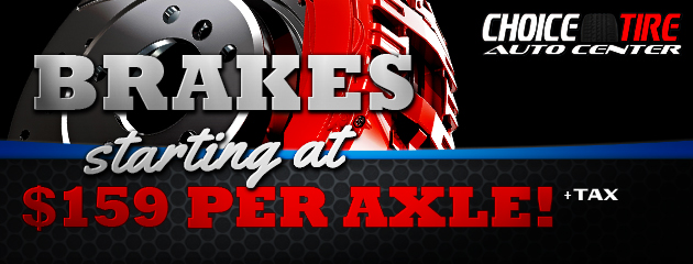 Brakes starting at $159 per Axle