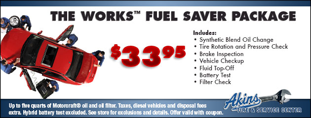The Works™ Fuel Saver Package