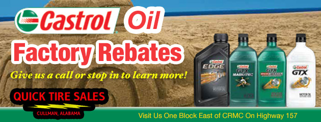 Castrol Factory Rebates - Click here to learn more!