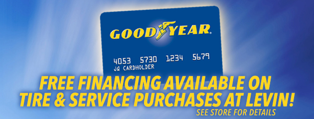 Levin Tire - Goodyear Credit Card