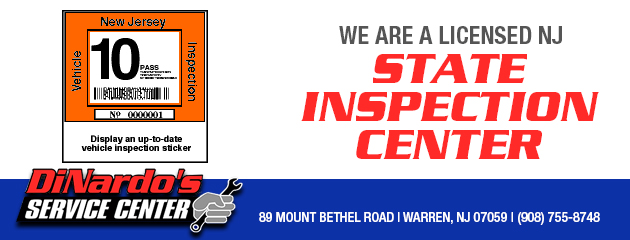 Licensed NJ State Inspection Center