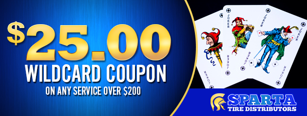 $25 Wildcard Coupon