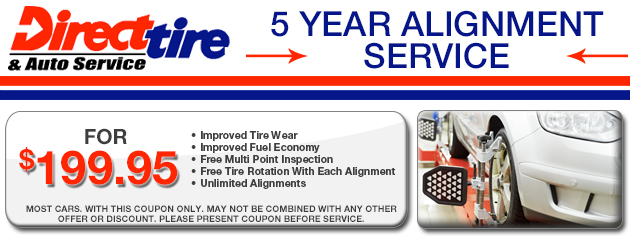 5 year alignment service