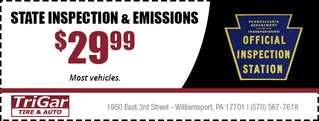 State Inspection & Emissions