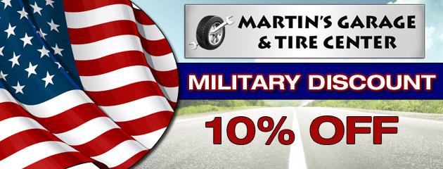 martin 39 s garage tire center fort myers fl tires auto repair shop. Black Bedroom Furniture Sets. Home Design Ideas