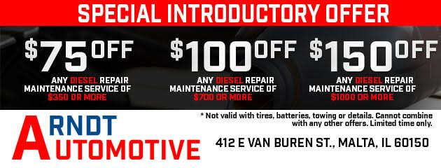 Diesel Special Introductory Offer