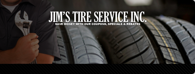 Save More at Jims Tire Service Inc.