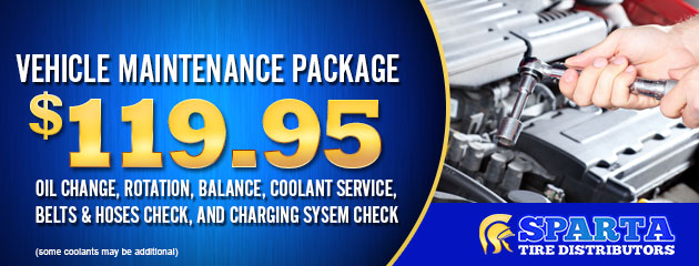 Vehicle Maintenance Coupon