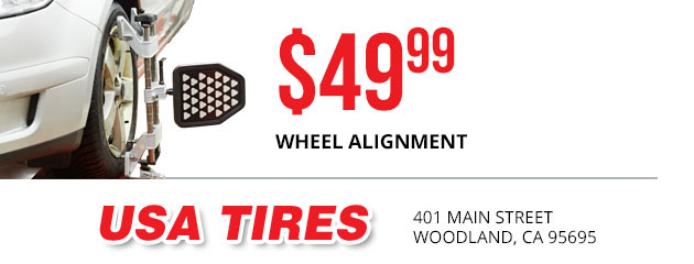 $49.99 Wheel Alignment