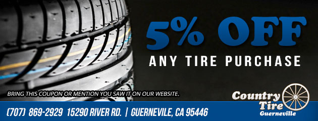 5% off any tire purchase
