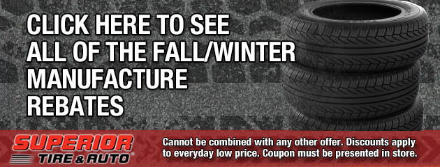 Click here to See all of the Fall/Winter Manufacture rebates
