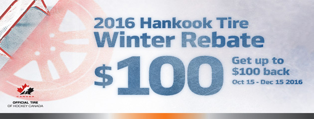 Hankook Get Up to $100 2016 Winter Rebate