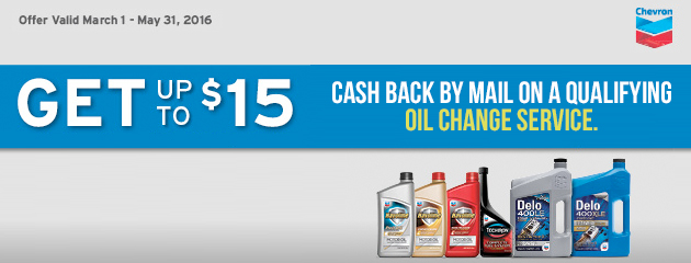 Get up to $15 Havoline via Mail-in Rebate