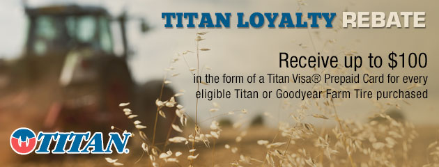 Titan Loyalty Rebate