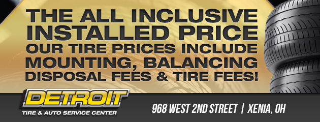 Detroit tire xenia coupons