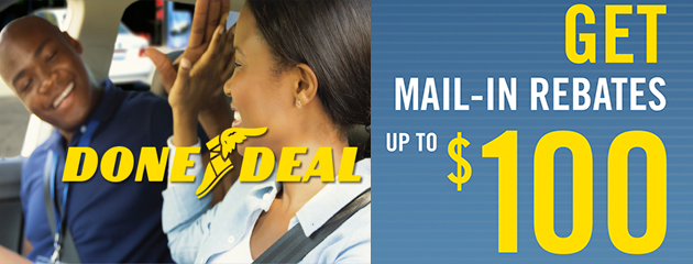 Goodyear Done Deal Up to $100 Mail-in Rebate
