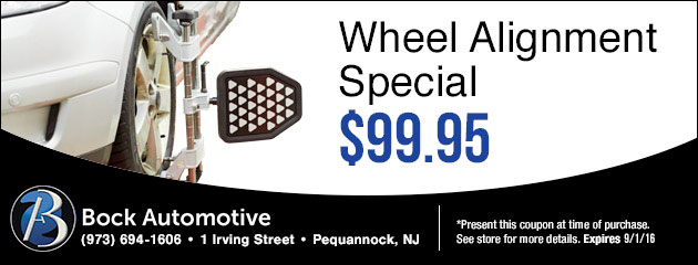 Wheel Alignment Special for $99.99