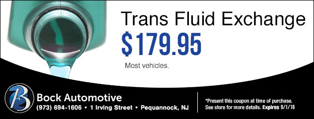 Trans Fluid exchange $179.95