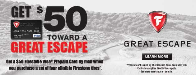 Best One Get $50 toward a Great Escape Reward