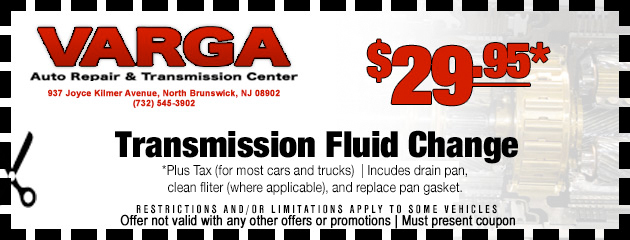 Transmission fluid chage special