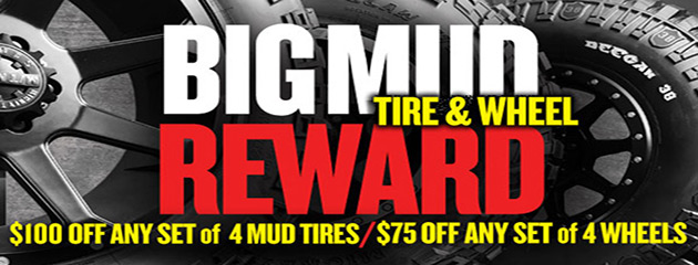 MickeyThompson Big Mud Reward Up to $100