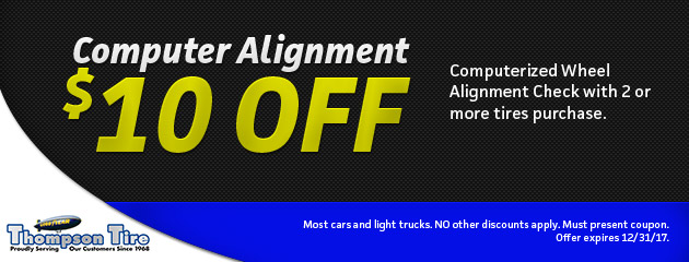 Save $10 on Computer Alignment