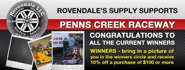 We Support Penns Creek Raceway