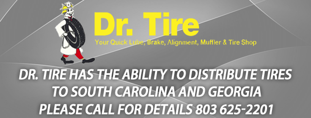 Distribute Tires to SC and GA