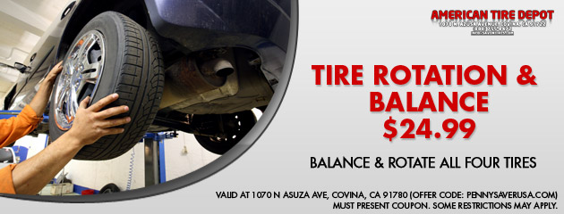 Tire Rotation and Balance