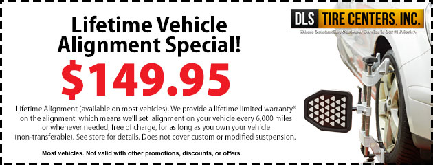 Lifetime Vehicle Alignment Special