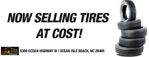 Now Selling Tires At Cost