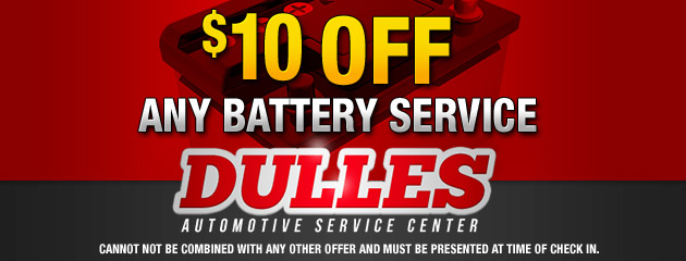 $10 Off Any Battery Service