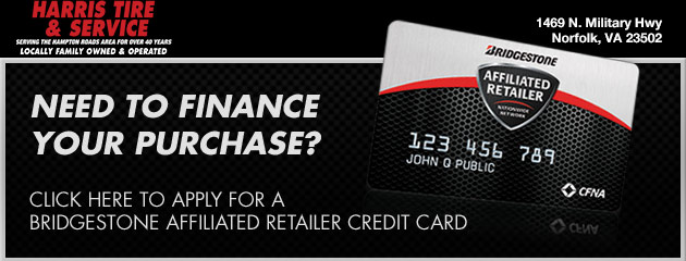 CFNA Financing - Harris Tire & Service