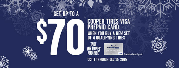 Cooper up to $70 Rebate Canada