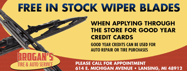 Free In Stock Wiper Blades