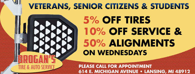 Veterans, Senior Citizens, and Students Specials