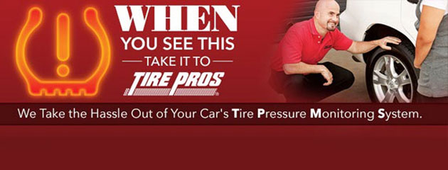 Tire Pros 4 TPMS