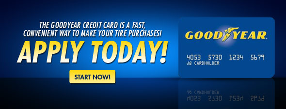 Apply for the Goodyear Credit Card