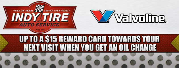 Valvoline up to $15 Reward Card