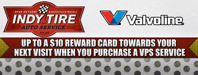 Valvoline up to $10 Reward Card
