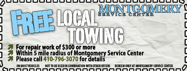 Free Towing Special
