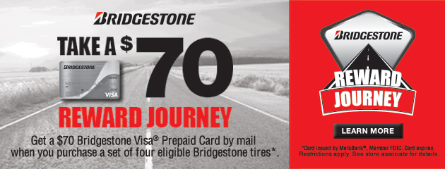 Bridgestone $70 Reward