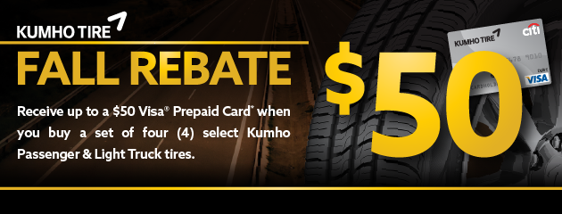 $50 Rebate from Mr. Tire